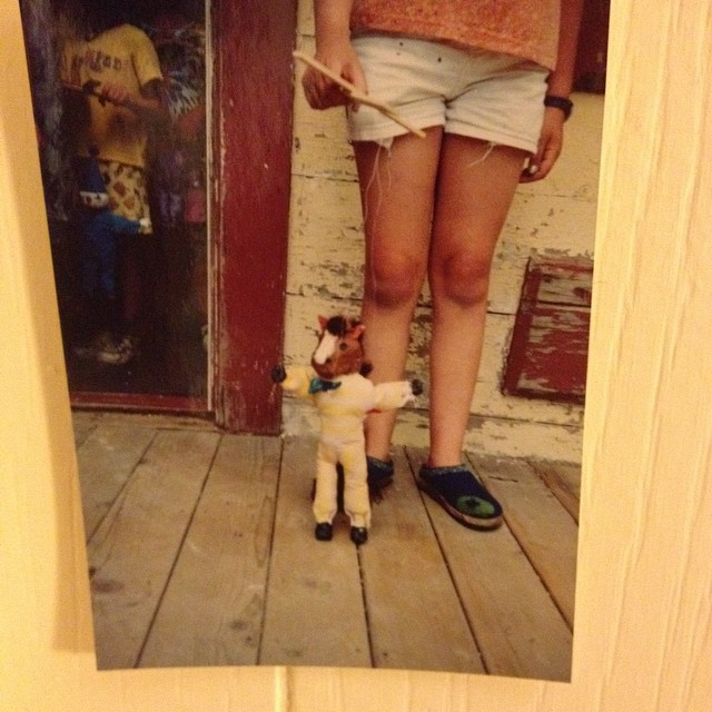 My Previous puppet making experience, circa 1999