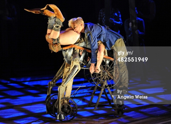 """Titania straightway loved an ass!""  Source: Angela Weiss gettyimages.com"