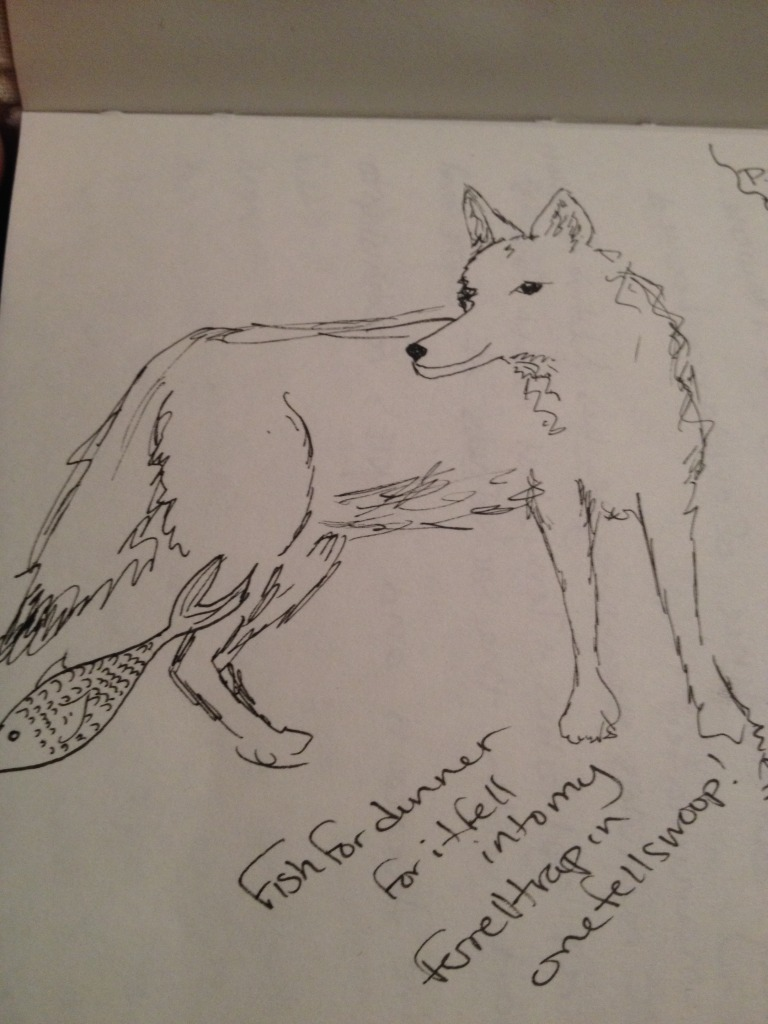 Coyotes running around in my dreams.