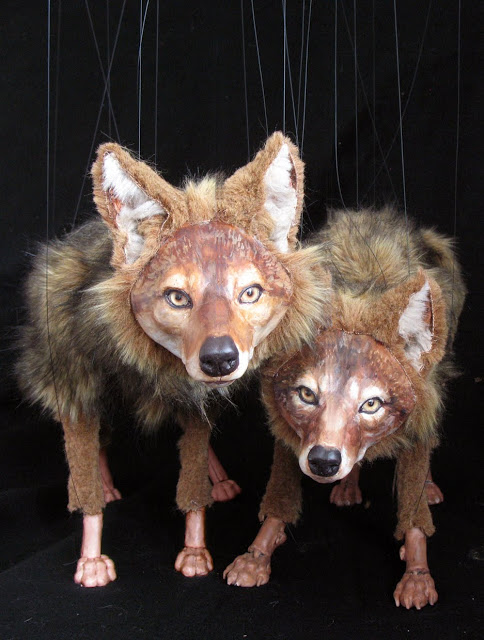 Amazing Coyote Marionettes as inspiration